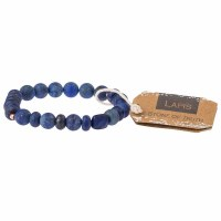 Scout Currated Wears Stone Stacking Bracelet SS Lapis