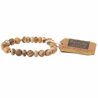 Scout Currated Wears Stone Stacking Bracelet SS Picture Jasper