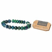 Scout Currated Wears Stone Stacking Bracelet SS Azurite