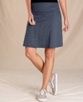 Toad & Co  Chaka Skirt XS Nightsky Houndstooth Print