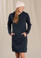 Toad & Co  Follow Through Hooded Dress S Big Sky