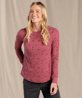 Toad & Co  Women's Foothill Long-sleeve Crew XS Prickly Pear