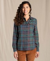 Toad & Co  Re-Form Flannel Shirt S Raisin