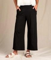 Toad & Co  Chaka Wide Leg Pants M Black