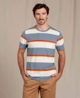 Toad & Co  Grom Hemp Short-sleeve Shirt S North Shore Stripe
