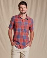 Toad & Co  Smythy Short Sleeve Shirt XL Chili