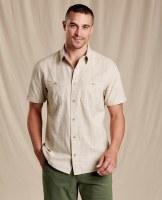 Toad & Co  Smythy Short Sleeve Shirt M Twine
