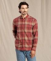 Toad & Co  M's Airsmyth LS Shirt S Hatch Chili
