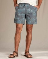 Toad & Co  M's Boundless Pull-on Shorts M True navy Tie Dye