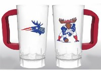 Woods & Sea Patriot & Minute Moose Plastic Tailgate Cup