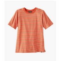 Pendleton W's Deschutes Stripe Tee S Spiced Orange/Antique White