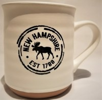 A & F Gift and Souvenir Co. New Hampshire Est. 1788 Terra Cotta Mug  White