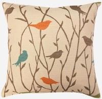 Creative Home Furnishings Twitter Pillow 17x17 Calypso