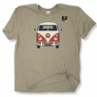 Duck Co. VW Boogie Van S/S Tee S Heather Camel