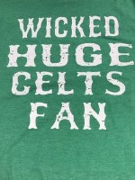 FBG Wicked Huge Celts Fan S/S Tee Small Heather Green