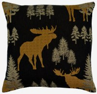 Creative Home Furnishings Woodland Pillow 17x17 Earth