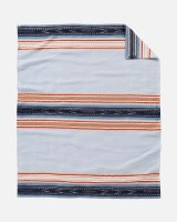 Pendleton Escalante Ridge Organic Cotton Jacquard Blanket Throw Escalante Ridge Denim