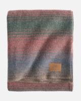 "Pendleton Yakima Camp Wool Queen Blanket 90""x90"" Clearwater"