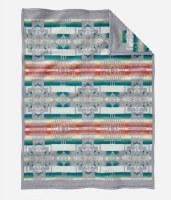 Pendleton Chief Joseph Children's Blanket 32x44 Grey