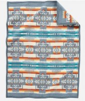 Pendleton Chief Joseph Children's Blanket 32x44 Slate