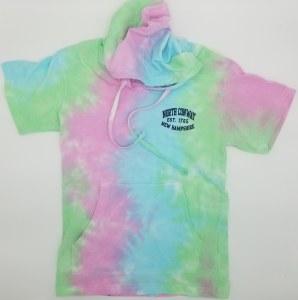 Luba Designs Tie Dye S/S Hoodie M SAP