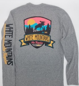 Duck Co. Twilight Moose Long Sleeve Tee L HPP