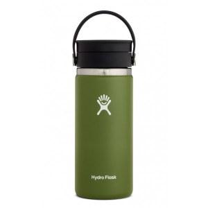 Hydro Flask 16oz Wide Mouth w/ Flex Sip Lid 16oz Olive