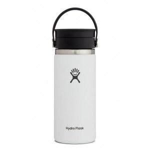 Hydro Flask 16oz Wide Mouth w/ Flex Sip Lid 16oz White