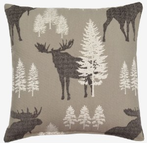 Creative Home Furnishings Woodland Pillow 17x17 Alpine
