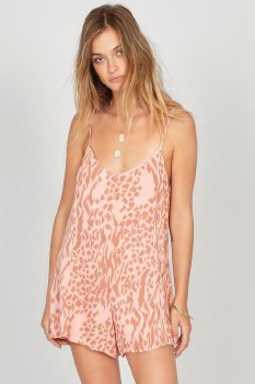 Amuse Society Wild For You Romper