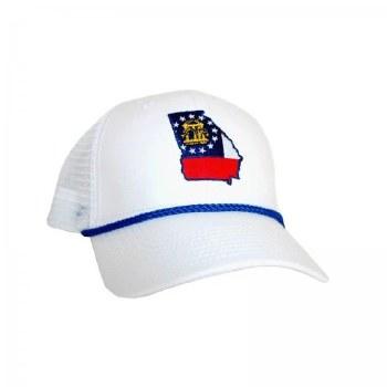Peach State Pride Georgia State Hat