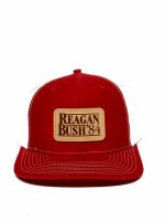 Reagan Bush '84 Leather Patch Hat