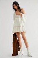 Free People Easy To Love Mini Bubble Dress