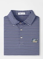 Georgia Southern Mills Stripe Performance Polo