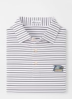 Georgia Southern Eagle Wiggs Stripe Performance Polo