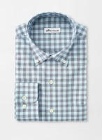Peter Millar Crown Stretch Woodbery Gingham Sportshirt