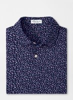 Peter Millar Featherweight Printed Fish Performance Polo
