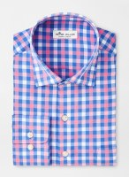 Peter Millar Lane Performance Poplin Sport Shirt
