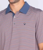 Rutledge Stripe Polo SS