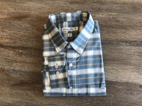 Southern Point Blue Plantation Flannel