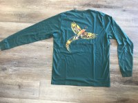 Southern Point Bird Green Tee