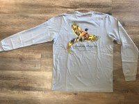 Southern Point Bird Gray Tee