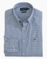 Southern Tide Micro Gingham Brrr Intercoastal Sport Shirt