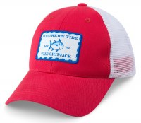 ST Patch Trucker Hat Red
