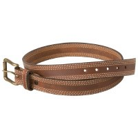 Mountain Khaki Triple Stitch Belt