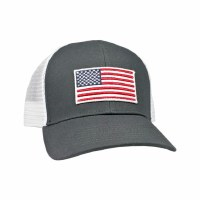 Peach State Pride American Flag Mesh Back Hat