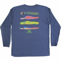 Aftco Youth Marlin Lures LS T-Shirt