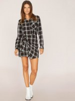 Sanctuary Clothing Ani Plaid Dress