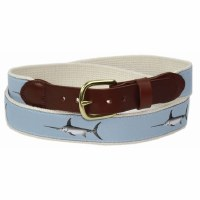Leathermanm Fabric Tab and Buckle Belt