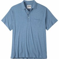 Mountain Khaki Patio Polo